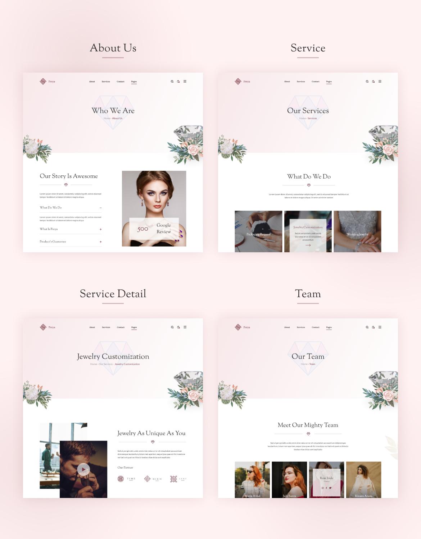 Demera | Jewelry Elementor Template Kit - 2