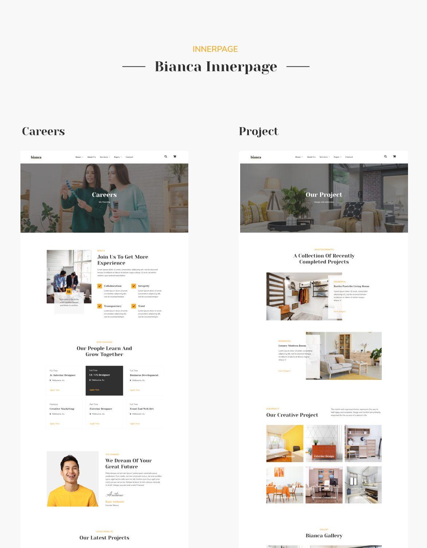 Bianca | Architecture & Interior Elementor Template Kit - 5